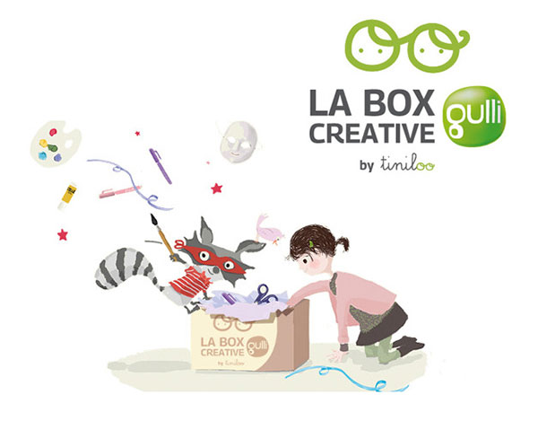 Box Créative Gulli by Tiniloo