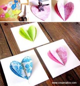 Carte Coeur 3D