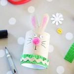 diy lapin Pâques récup carton