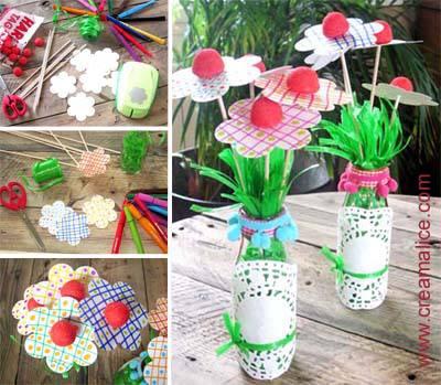 Bouquet Fleurs Bonbons