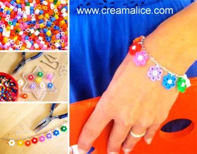 diy-bracelet-fleurs-perles-hama