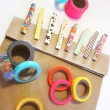 Pinces à linge Masking Tape