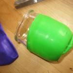 diy vase deco en ballons de baudruche