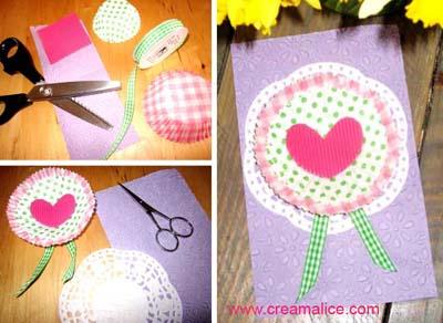 Carte Déco Cupcakes