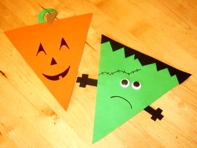 Diy guirlande fanions pour la d co d 39 halloween - Guirlande d halloween ...