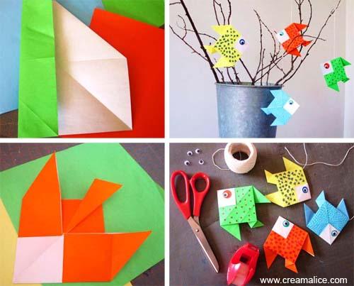 Deco Poissons Origami