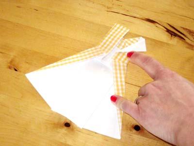 Diy carte robe origami cr amalice - Robe en origami ...