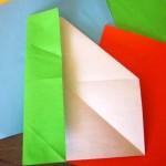 activité manuelle déco poisson origami