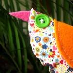 diy couture pour réaliser un oiseau en tissu