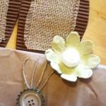 diy sac lapin Pâques en matériaux récup