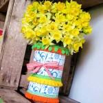 diy vase récup printemps