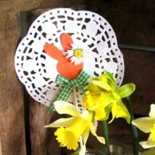 bricolage déco table Pâques