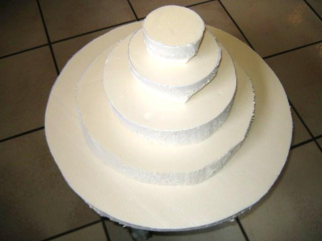 Gateau bonbon polystyrene