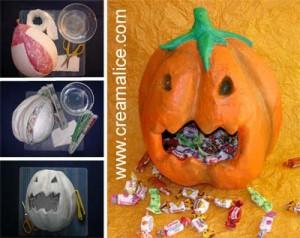 Bonbonnière Citrouille Halloween
