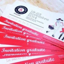 invitation Salon Créations et Savoir-faire Paris 2014