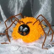 diy araignée Halloween
