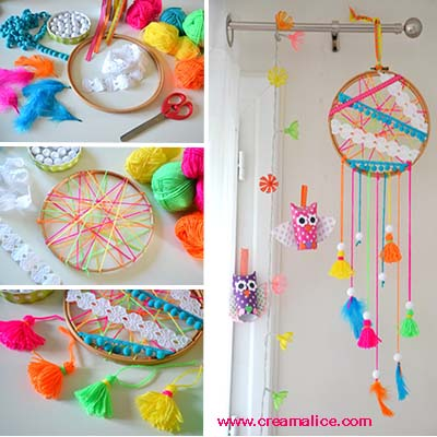 diy attrape r ves dreamcatcher. Black Bedroom Furniture Sets. Home Design Ideas