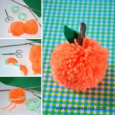 diy-citrouille-pompon-Creamalice