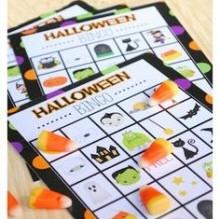 diy jeu Bingo Halloween à imprimer