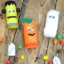 diy mini-pinata Halloween