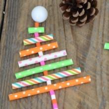 diy mini-sapin Noël en paille