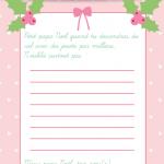 diy lettre Père Noël à imprimer10