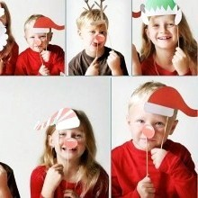 diy photobooth Noël