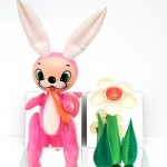 Lapin gonflable Jeff Koons