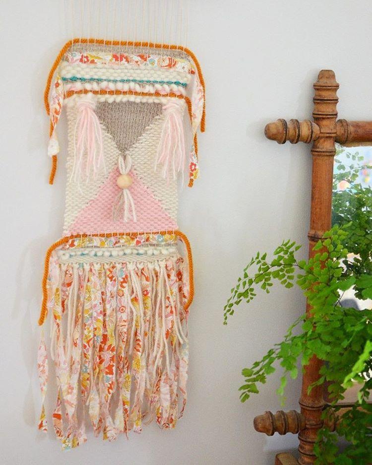 Tissage Mural Olga Créamalice Créations