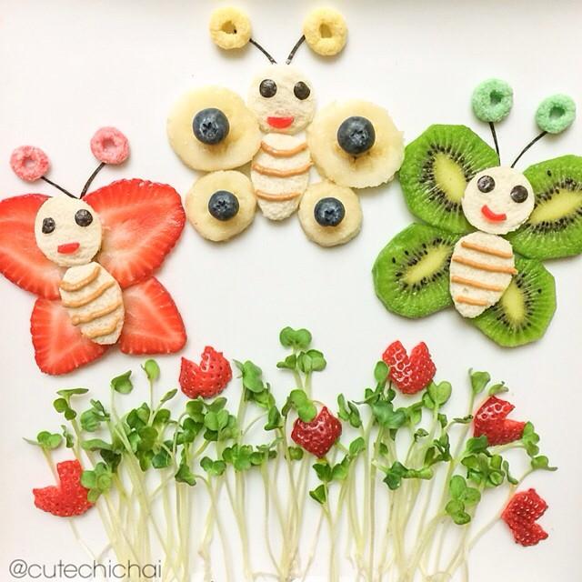 fun food} les assiettes créatives de cute chichai - créamalice