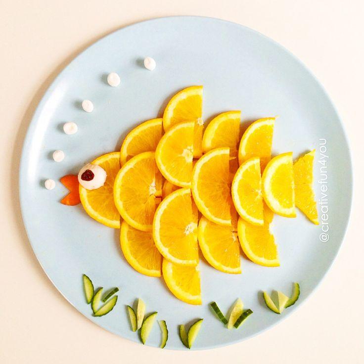 cuisine créative enfants spéciale poisson d'avril