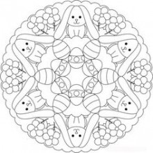 printable coloriages pques cramalice - Coloriage Paques