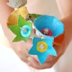 diy recyclage créatif avec des boîtes à oeufs