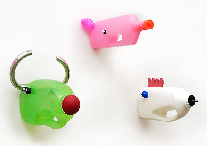 diy recyclage créatif avec des bouteilles plastique2