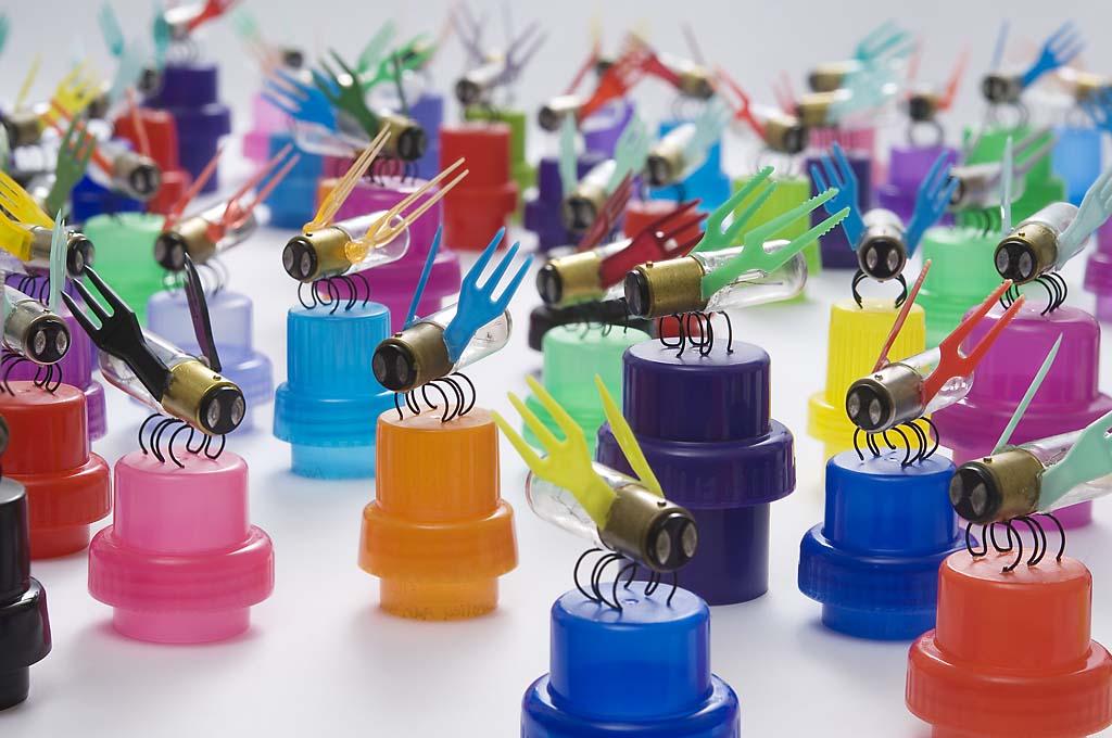 diy recyclage créatif avec des bouteilles plastique