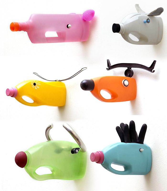 diy recyclage créatif avec des bouteilles plastique4