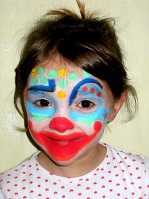 diy maquillage clown. Black Bedroom Furniture Sets. Home Design Ideas
