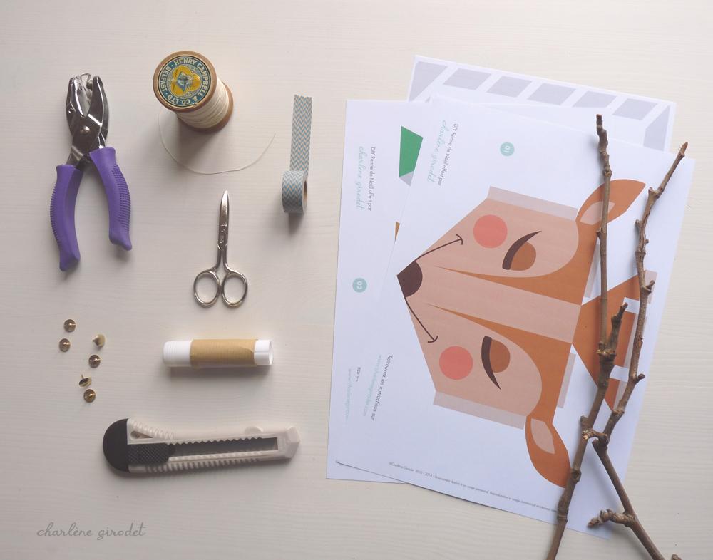 DIY+Renne+de+Noël+en+papier+-+Charlène+Girodet (2)