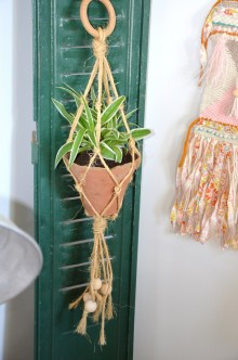 diy porte plante macrame creamalice cr amalice. Black Bedroom Furniture Sets. Home Design Ideas