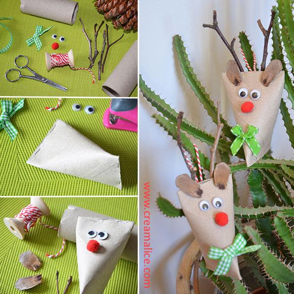 diy rennes Noël en carton Créamalice
