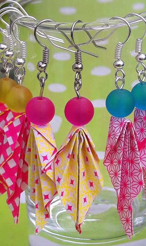 Boucles-doreilles-origami-Shop-Creamalice-Creations